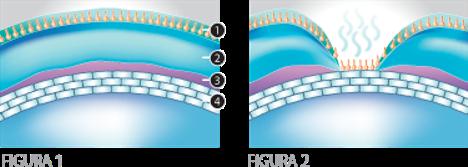 Película lagrimal sana versus película lagrimal rota, lágrima, lagrimal